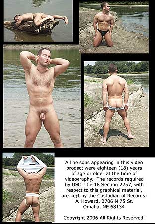 Male Physique Model In The Great Outdoors Back DVD Cover