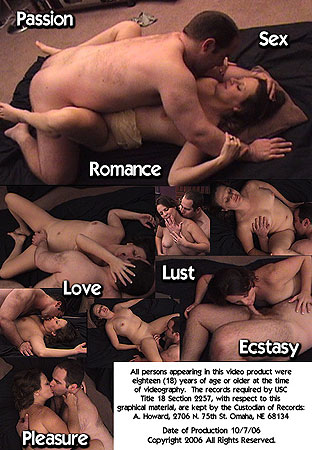 Passionate Hardcore Sexual Eroticism: John X Pleasures MILF SweetD Into Ecstasy Back DVD Cover