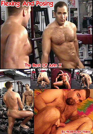 John X Flexing and Posing Video Front DVD Cover