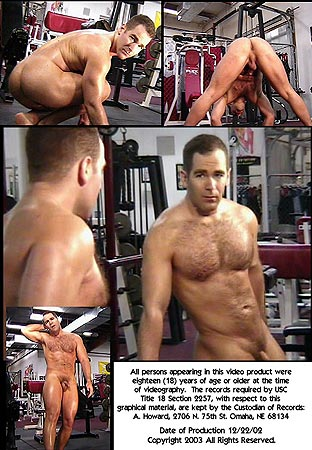 Johns Nude Workout Video Back DVD Cover