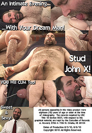 YOUR Intimate Evening With Beefy Bear John X POV Back DVD Cover