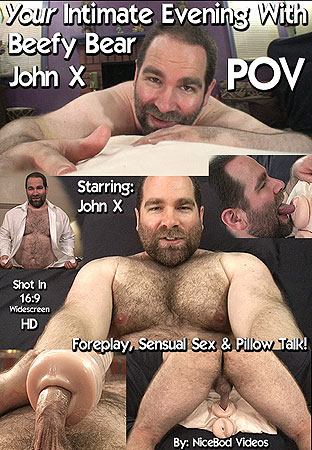 YOUR Intimate Evening With Beefy Bear John X POV Front DVD Cover